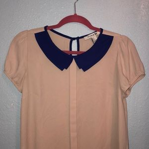 Vintage looking collared blouse
